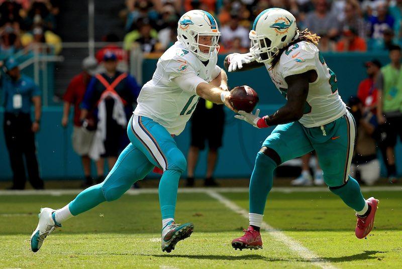 Miami Dolphins ganan