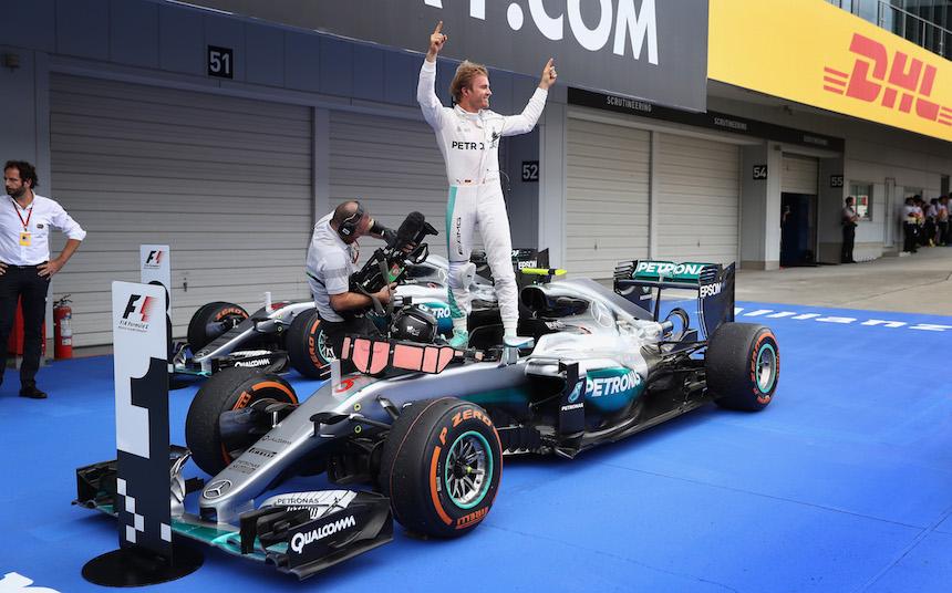 Nico Rosberg sigue dominando con Mercedes