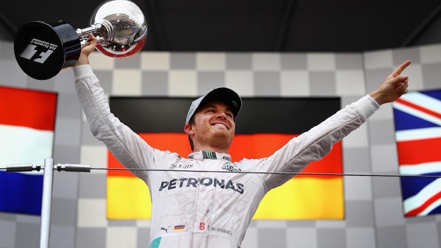 Nico Rosberg ganó el Gran Premio de Japón