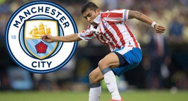 Medios ingleses: Orbelín Pineda está en la mira del Manchester City