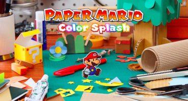 Así fue como se creó el mundo de Paper Mario: Color Splash