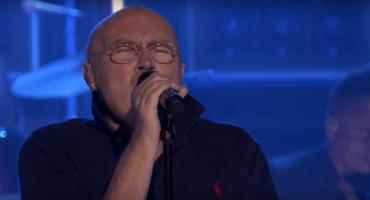 El grandioso regreso de Phil Collins en el programa de Jimmy Fallon