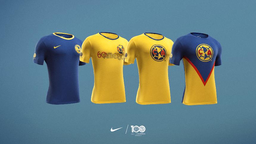 new arrival 9e5be 2c140 Nike saca a la venta la Colección de Leyendas del Club América