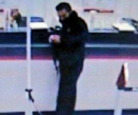 Un tipo asaltó en 15 minutos dos sucursales bancarias en Polanco