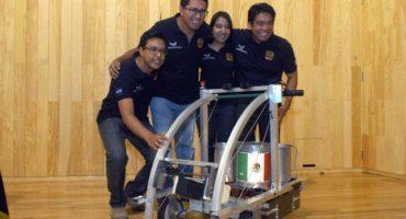 Alumnos de la UNAM triunfan en concurso internacional de robótica
