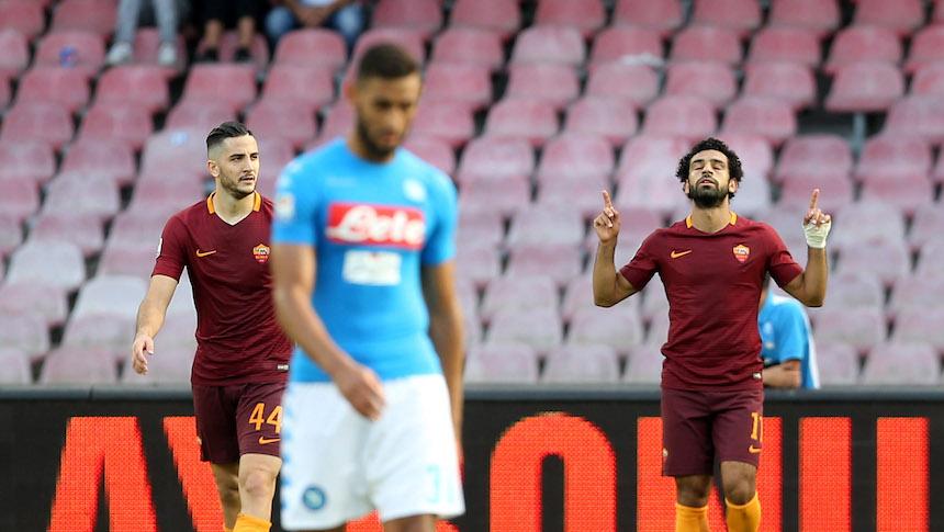 Roma le ganó 1-3 al Napoli
