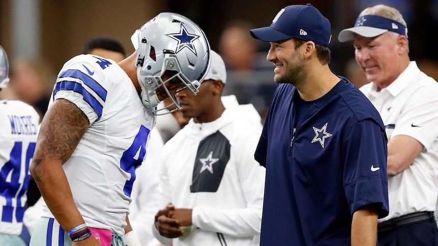 Romo y Prescott mantendrán una lucha por ver quien es el titular en Dallas