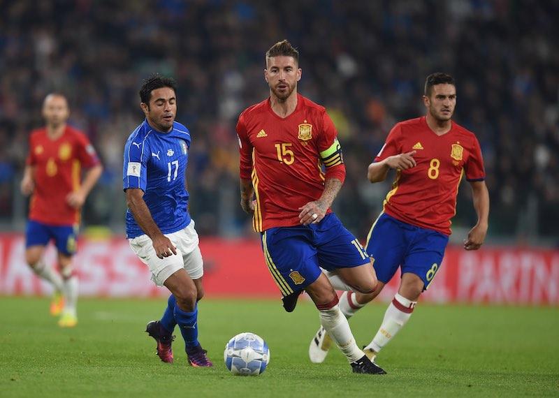 Sergio Ramos con España