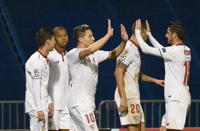 Sevilla gana en Champions