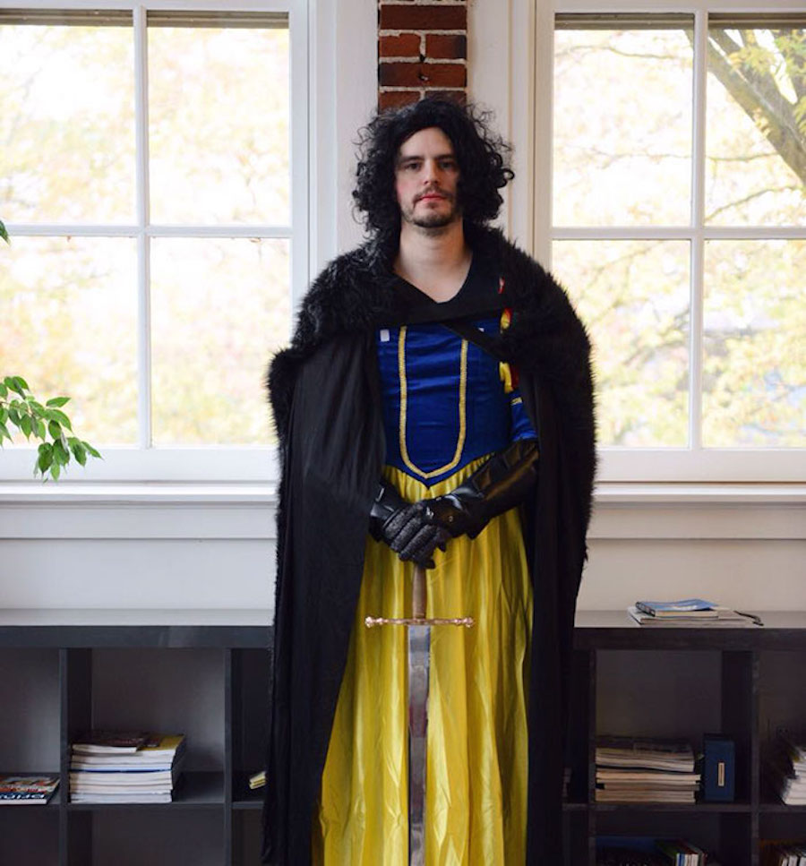 Disfraz de Jon Snow White