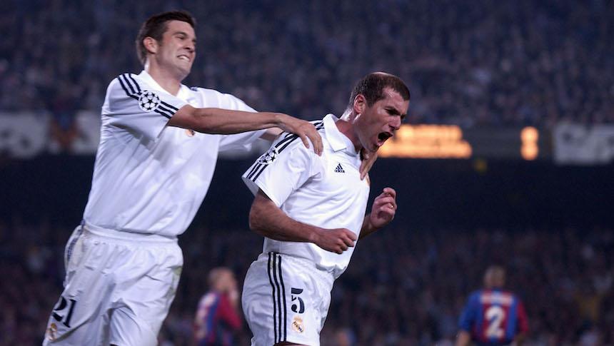Santiago Solari jugó en el Real Madrid