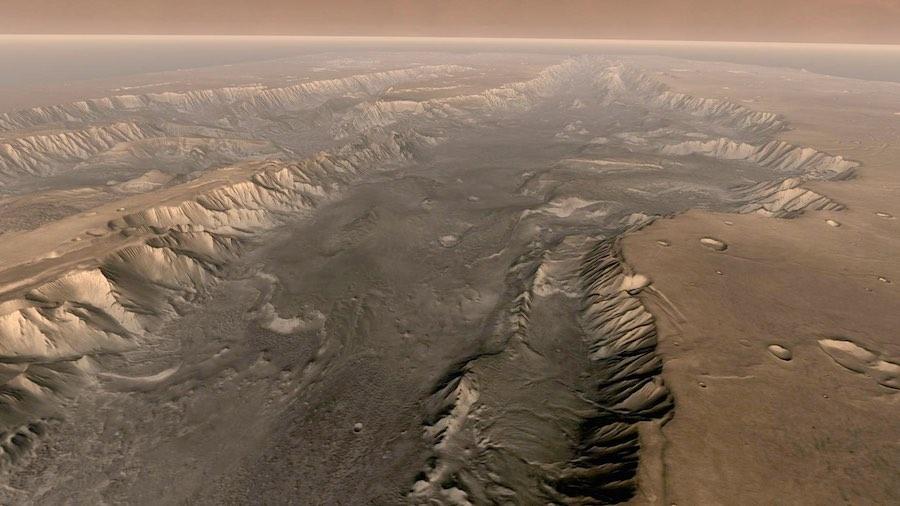Superficie del planeta Marte