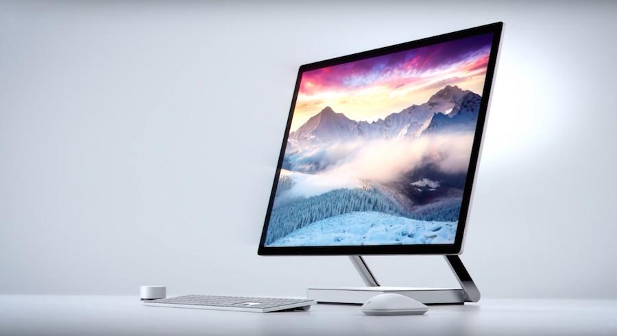 La nueva Surface Studio de Microsoft