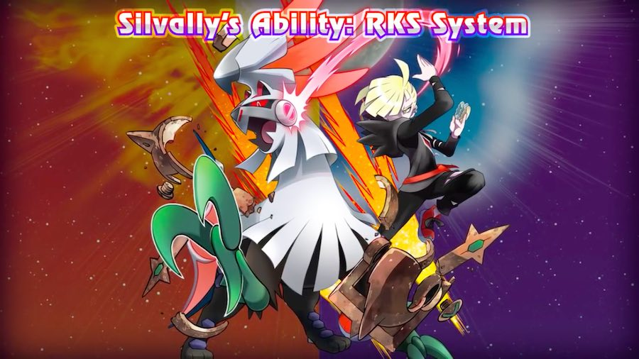 Silvally y otros Pokémon se unen a las versiones Sun/Moon