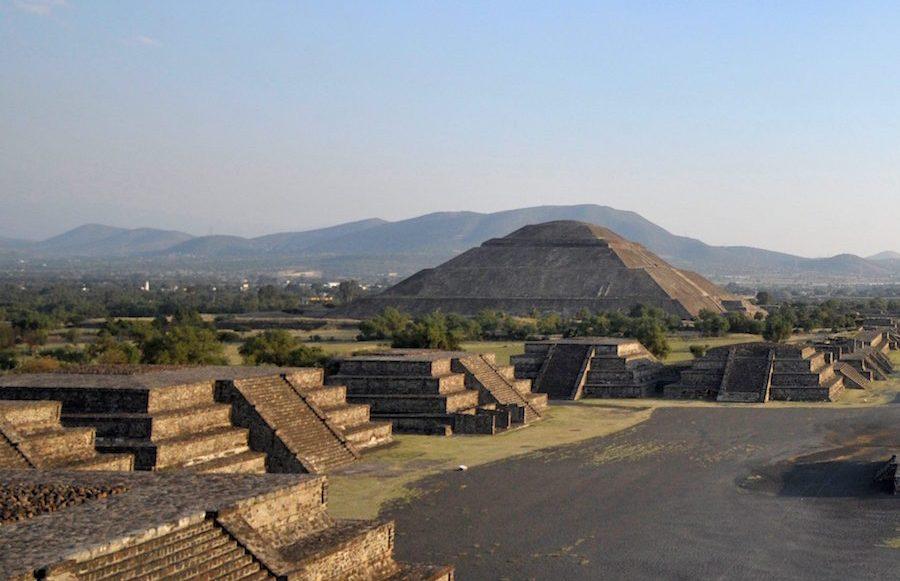 Cerrarán la zona arqueológica de Teotihuacán por el coronavirus