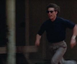 Tom Cruise corriendo en sus películas