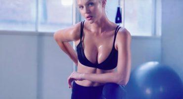Los angelitos de Victoria's Secret te enseñan a mantenerte en forma