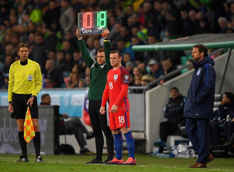 Wayne Rooney con selección de Inglaterra