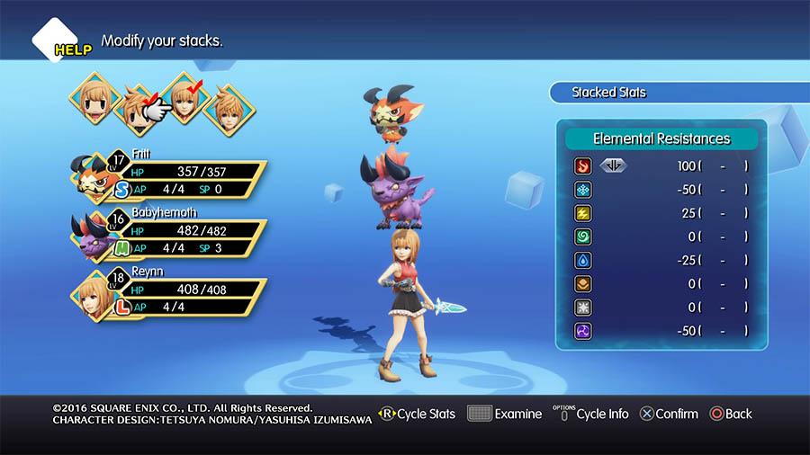 World of Final Fantasy Ventajas