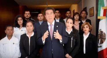 Con este conmovedor video Héctor Yunes le pide a Javier Duarte que se entregue