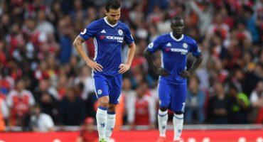 Cesc Fàbregas ahora juega con las reservas del Chelsea