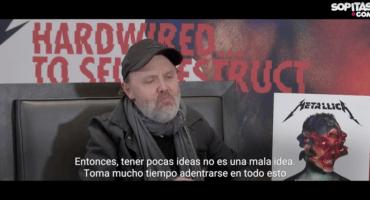 Lars Ulrich de Metallica, sobre el estreno mundial de su nuevo disco