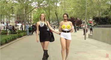 WTF!? Graban una película porno en las calles de Madrid