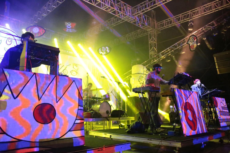 El mágico trance de Animal Collective en el Corona Capital 2016