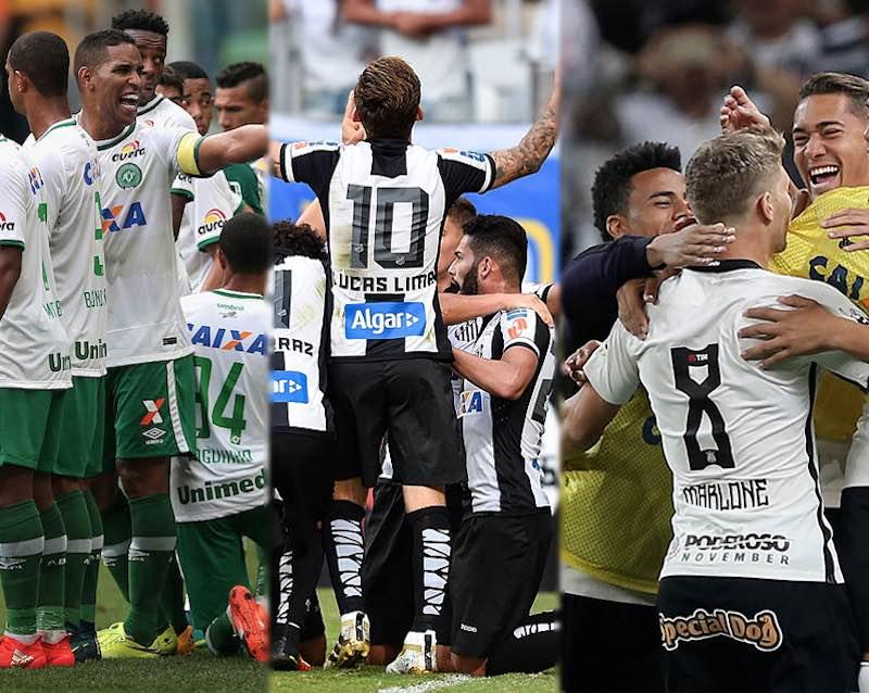 Apoyo para Chapecoense en Brasil