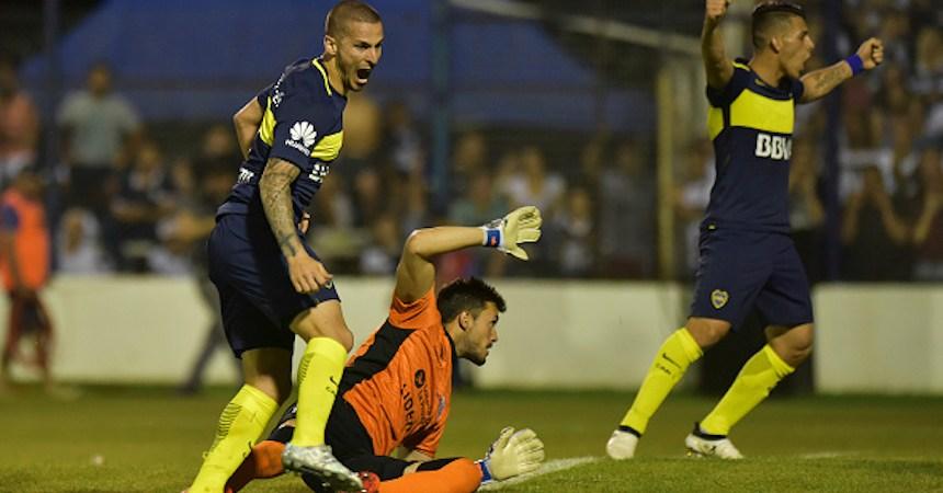 Gimnasia y Esgrima La Plata v Boca Juniors - Torneo Primera Division 2016/17