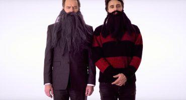 Bryan Cranston y James Franco se ponen barbas para concientizar sobre el cáncer