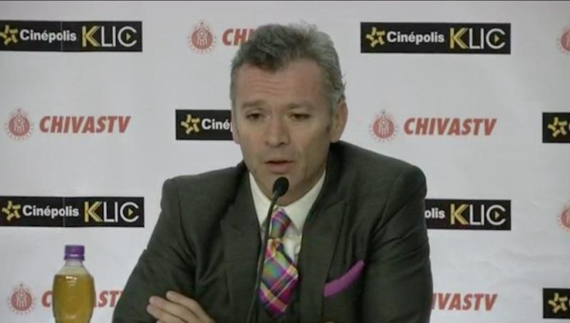 José Luis Higuera Chivas TV