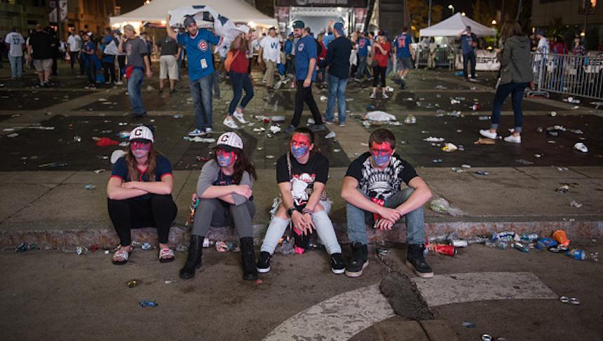 El otro lado de la Serie Mundial: la tristeza de los Cleveland Indians en imágenes
