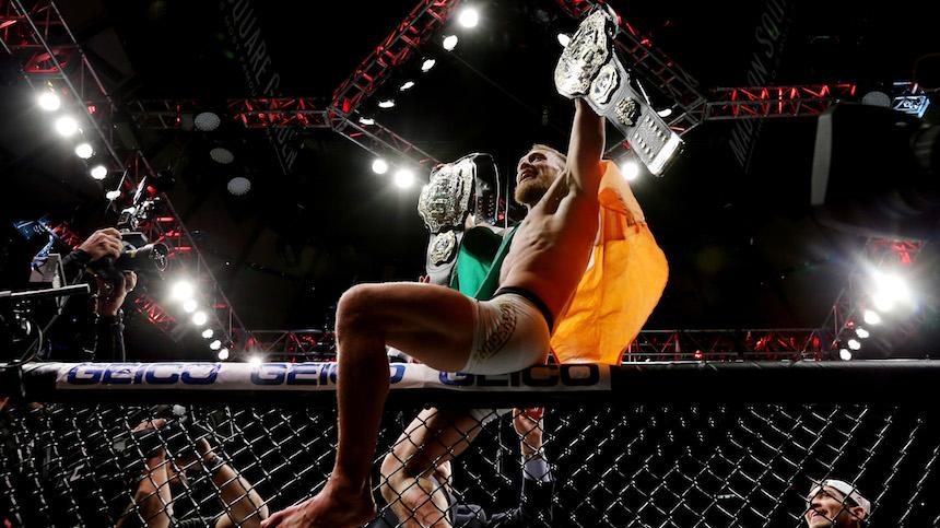 Conor McGregor dio una excelente pelea