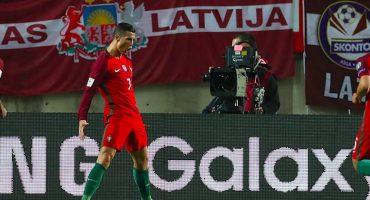 Cristiano Ronaldo metió gol en la Fecha FIFA de la UEFA