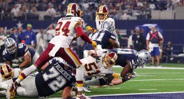 ¡Como en el Viejo Oeste! Cowboys derrotan a los Redskins en un duelo de ofensivas