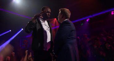 ¡Usain Bolt destruyó a James Corden en esta épica batalla de rap!