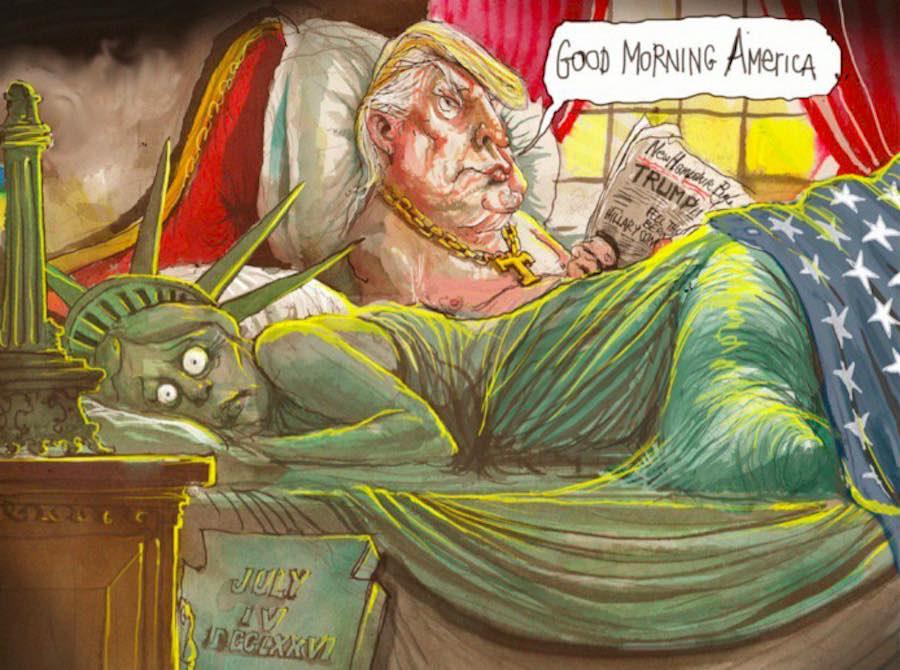 Portada - Caricatura de Trump