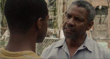 ¡Denzel Washington la rompe en este nuevo trailer de Fences!