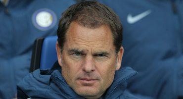 La crisis en el Inter continúa: Frank de Boer es cesado como entrenador