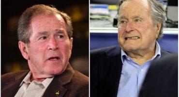 La familia Bush no votaría por el Partido Republicano... sino por Hillary