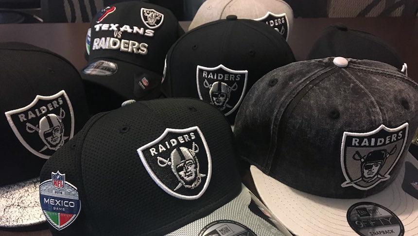 c577ade5eda5d ¡Invocando a los Raiders fans! Les tenemos gorras del equipo