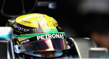Lewis Hamilton le rinde un homenaje a Ayrton Senna