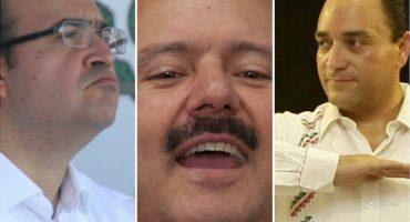 Por desvíos de exgobernadores a sus campañas, Morena pide al INE disolución del PRI