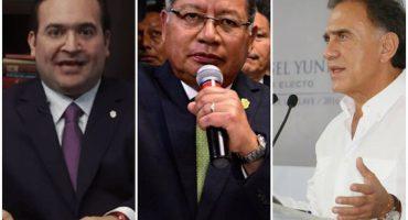 De los tres gobernadores de Veracruz... ¡no se hace uno!