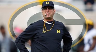 ¿Jim Harbough para coach de los Green Bay Packers?