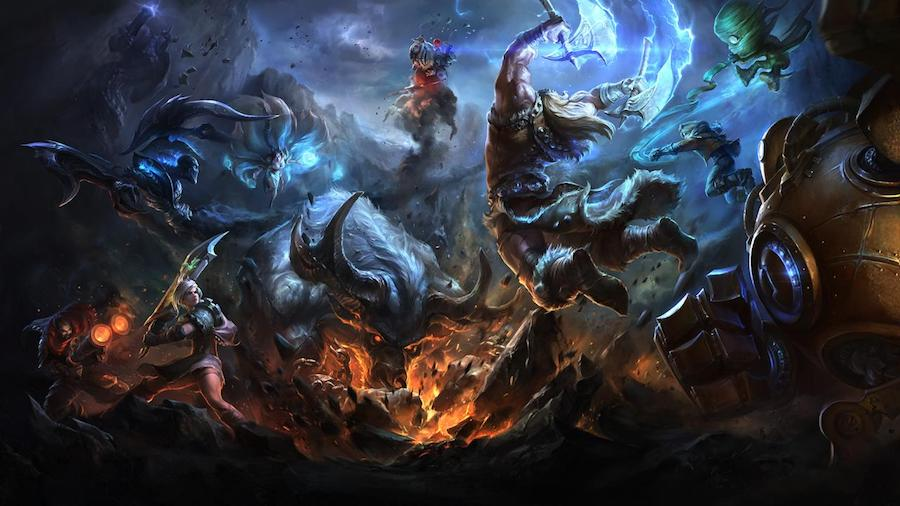 Algunas cosillas que dejó League of Legends en 2016