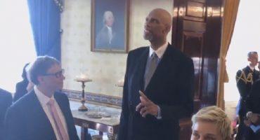 Obama entregó las Medallas a la Libertad... y tenían que hacer el #MannequinChallenge