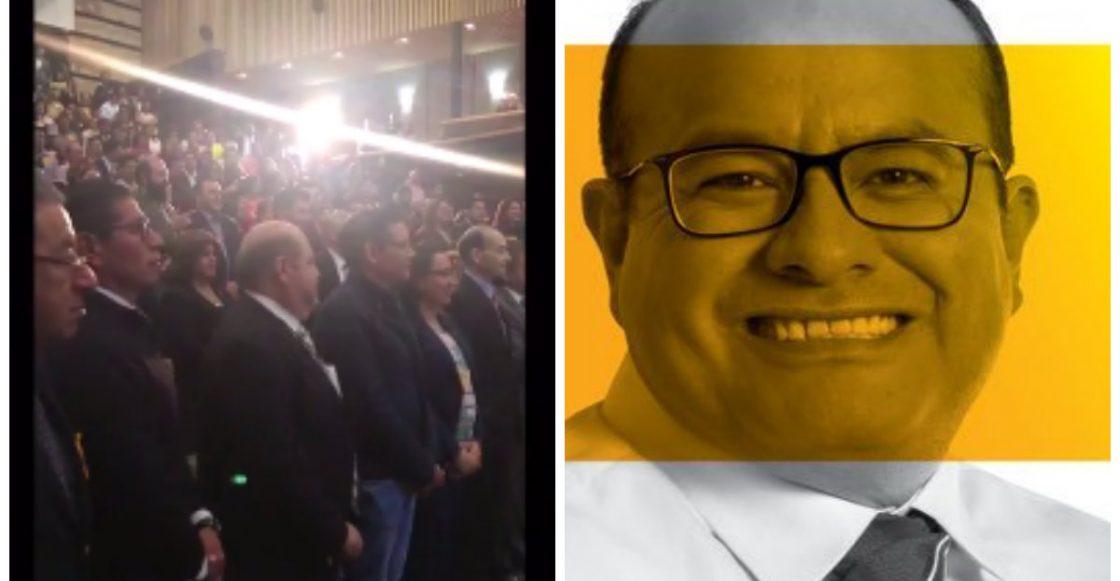 El peor #MannequinChallenge de la historia lo realizaron los políticos mexicanos, ¿pues quiénes más?