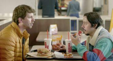 Napoleon Dynamite y Pedro se reúnen en un comercial de Burger King